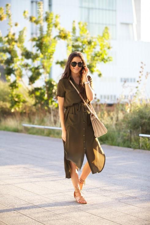 6 Gợi ý cách mặc đẹp đơn giản và cuốn hút với shirt dress elle Vietnam 09