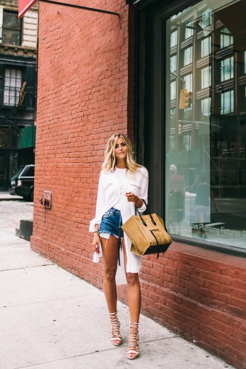 6 Gợi ý cách mặc đẹp đơn giản và cuốn hút với shirt dress elle Vietnam 12