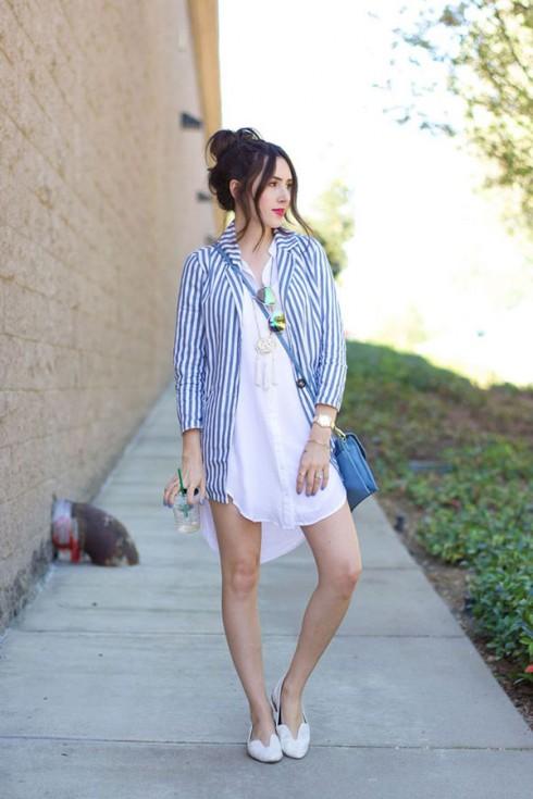 6 Gợi ý cách mặc đẹp đơn giản và cuốn hút với shirt dress e6 Gợi ý cách mặc đẹp đơn giản và cuốn hút với shirt dress elle Vietnam 13lle Vietnam 13