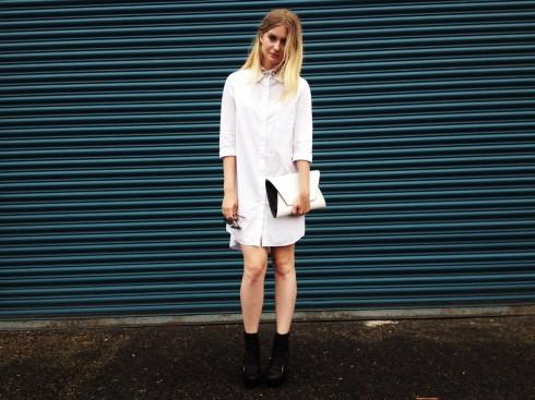 6 Gợi ý cách mặc đẹp đơn giản và cuốn hút với shirt dress elle Vietnam 15