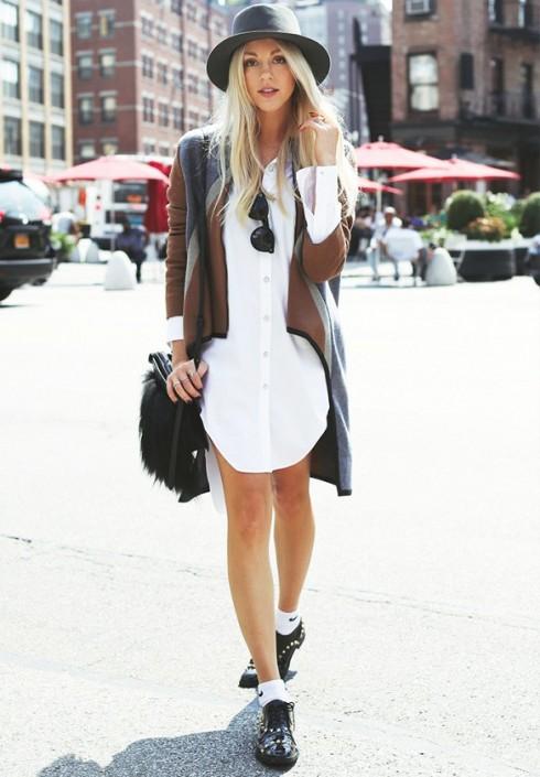 6 Gợi ý cách mặc đẹp đơn giản và cuốn hút với shirt dress elle Vietnam 166 Gợi ý cách mặc đẹp đơn giản và cuốn hút với shirt dress elle Vietnam 16