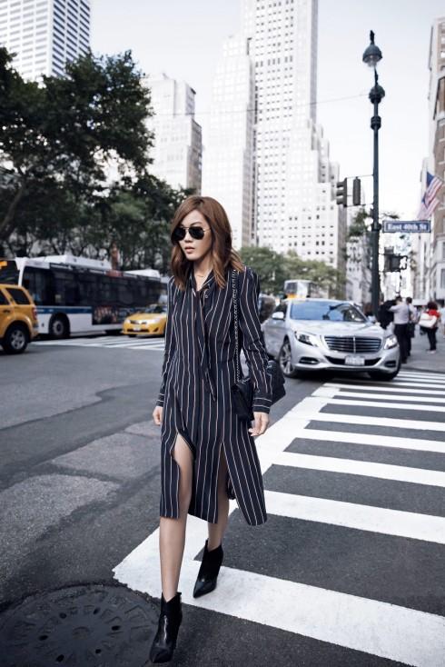 6 Gợi ý cách mặc đẹp đơn giản và cuốn hút với shirt dress elle Vietnam 19