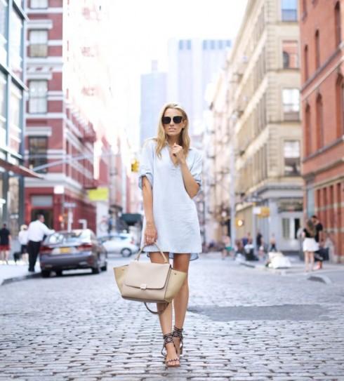 6 Gợi ý cách mặc đẹp đơn giản và cuốn hút với shirt dress elle Vietnam 22