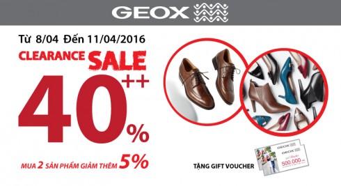 Geox Việt Nam ưu đãi giảm giá elle Vietnam 01