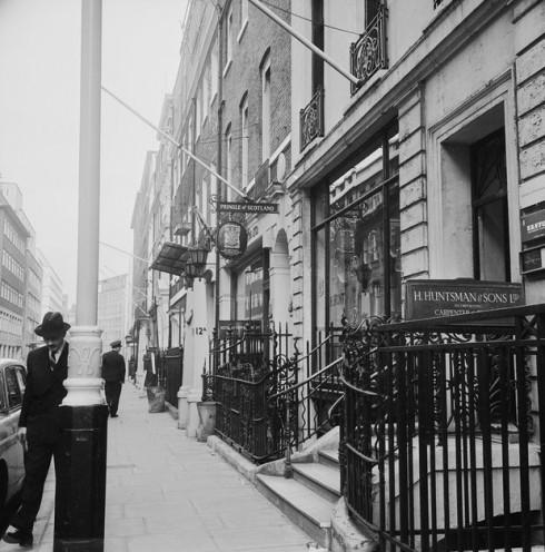 Savile Row của những năm 1960.