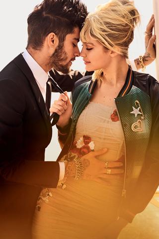 """""""Cuối tuần lãng mạn ở Naples"""" cùng Gigi Hadid & Zayn Malik"""