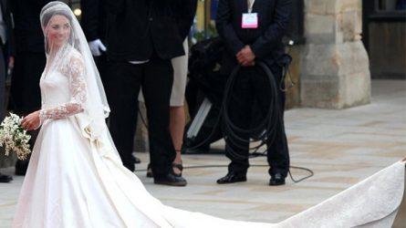 9 chiếc áo cưới hoàng gia trở thành biểu tượng của thời đại