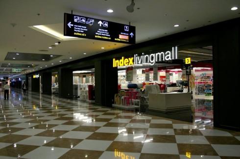 Indext Living Mall Times City là trung tâm nội thất và vật dụng trang trí thứ 2 được mở tại Việt Nam.