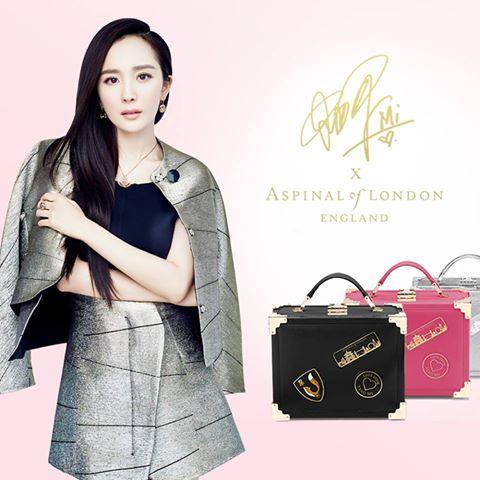 Dương Mịch hợp tác với Aspinal of London ra mắt túi xách - elle vietnam 07