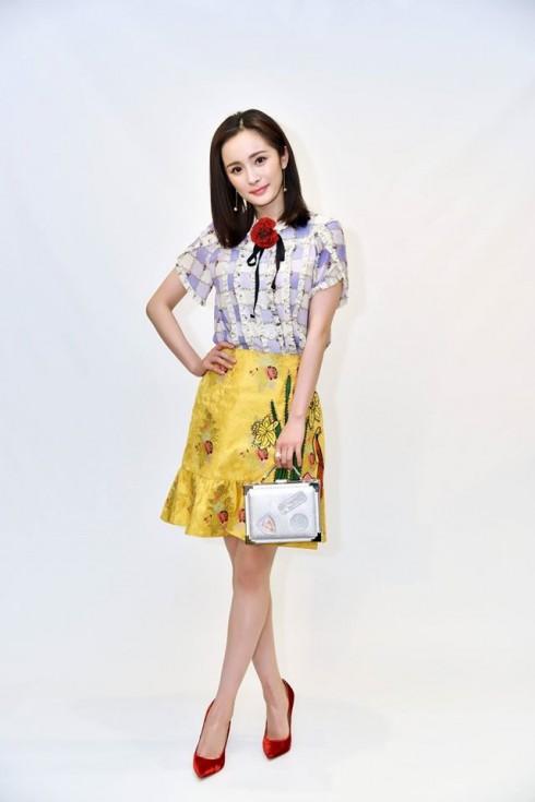 Dương Mịch hợp tác với Aspinal of London ra mắt túi xách - elle vietnam 05