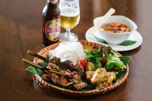 Món ăn đặc trưng của Hà Nội được phục vụ tại khách sạn trong tháng 5.