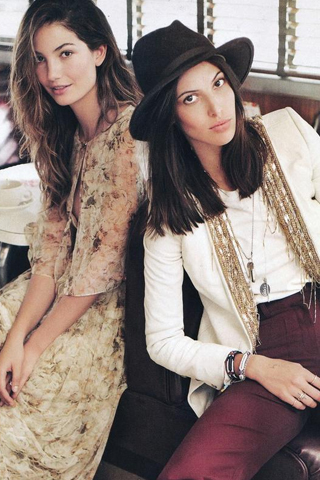 Những cặp chị em người mẫu thế giới nổi tiếng hiện nay