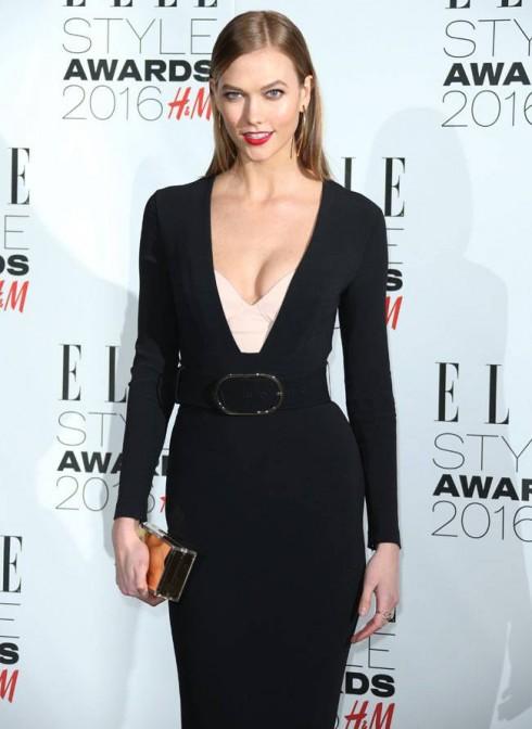 Karlie Kloss tại ELLE Style Awards UK 2016