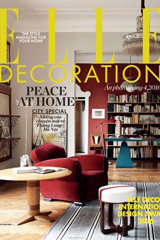ELLE Decoration 8: Khoảng xanh chở che