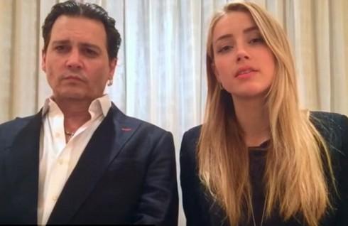 Vo chong Johnny Depp quay clip xin loi tai toa an Uc – ellevn - 02