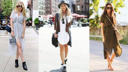 6 gợi ý cách mặc đẹp đơn giản & cuốn hút với shirt dress