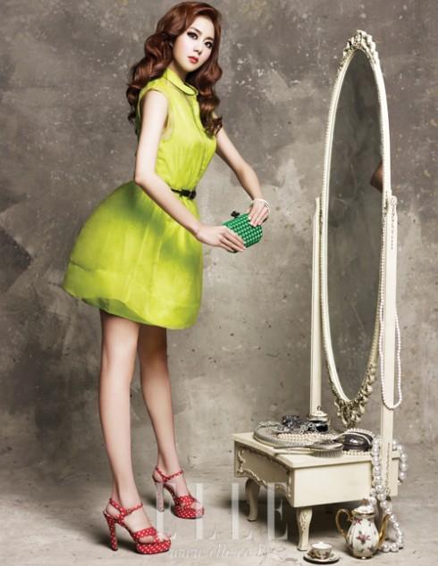 Bottega Veneta Knot trên tạp chí ELLE phiên bản Hàn Quốc