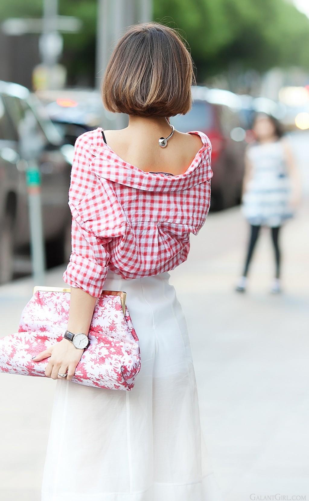 6 Cách mặc đẹp với quần lửng ống rộng elle Vietnam 10
