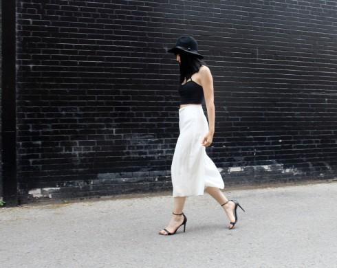 6 Cách mặc đẹp với quần lửng ống rộng elle Vietnam 17