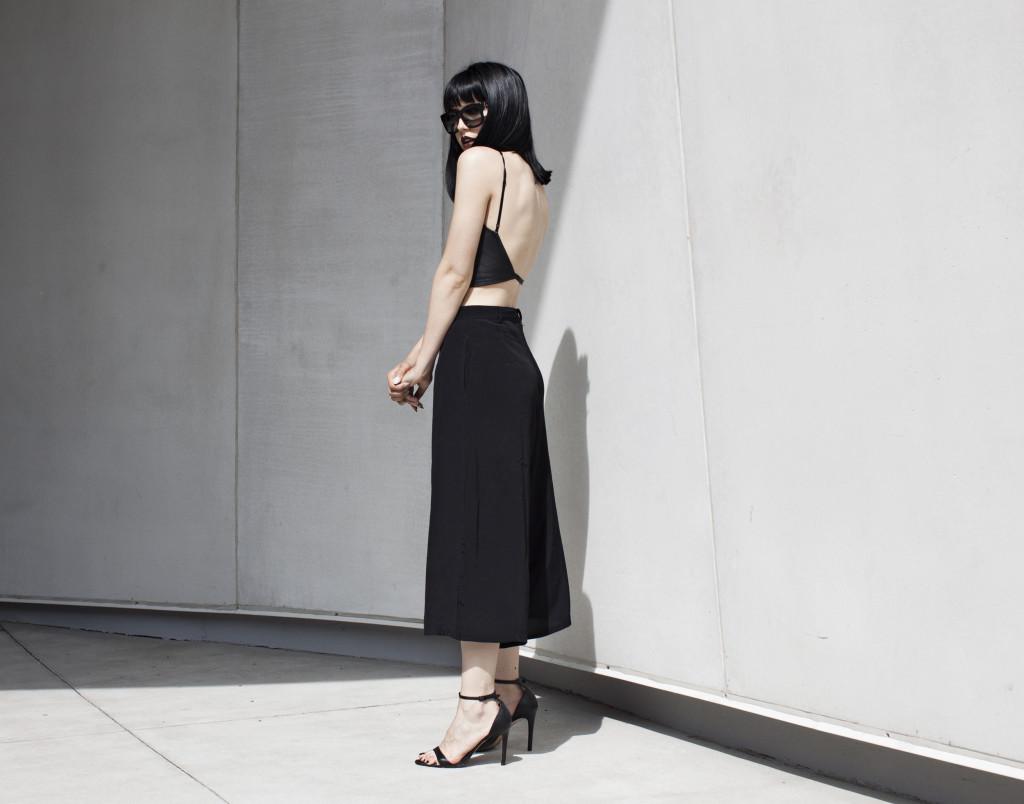 6 Cách mặc đẹp với quần lửng ống rộng elle Vietnam 18