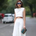 6 cách mặc đồ đẹp với quần lửng ống rộng
