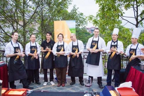 Hanoi Cooking Center là đơn vị vinh dự dành chiến thắng của cuộc thi.
