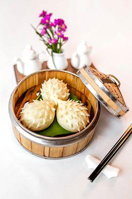 Nhiều món ăn mới - Bánh bao trứng sữa hình nhím hấp dẫn sẽ được phục vụ từ tháng 4. 2016 tại nhà hàng Tao Li.