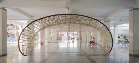 Triển lãm kiến trúc tại ĐHKT TPHCM 01