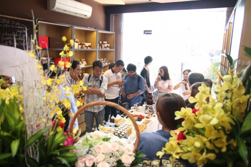 Showroom mới của DArt Chocolate tại TPHCM 07