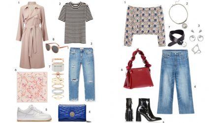 ELLE Style Calendar: Quần jeans phá cách (02/05-08/05)