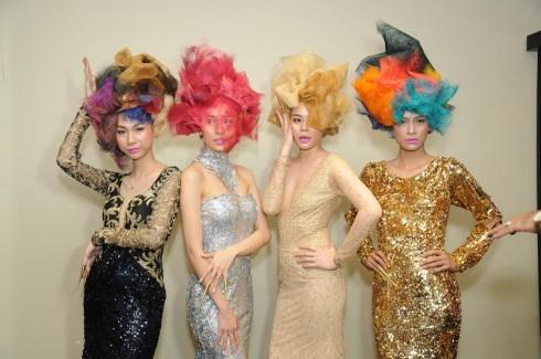 Show diễn là sản phẩm đầy tâm huyết của các chuyên gia ngành tóc đến từ Italy, Hồng Kông và Việt Nam.