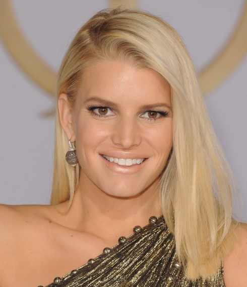 Jessica Simpson<br/>Actress arrives at the Los Angele Premiere