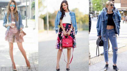 6 cách phối đồ với áo khoác denim