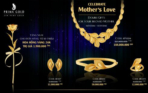 Prima Gold ra mắt BST và nhiều ưu đãi mừng Ngày của Mẹ - ellevietnam 02