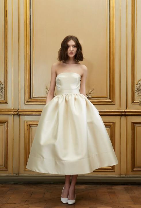 Gợi ý chọn váy cưới đẹp cho cô dâu có chiều cao khiêm tốn - ellevietnam 02