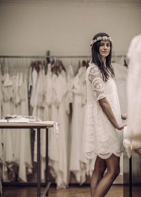 Gợi ý chọn váy cưới đẹp cho cô dâu có chiều cao khiêm tốn - ellevietnam 08