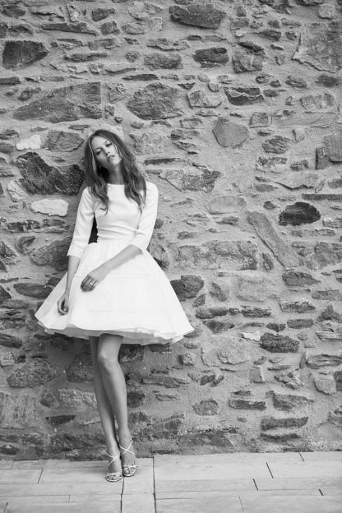 Gợi ý chọn váy cưới đẹp cho cô dâu có chiều cao khiêm tốn - ellevietnam 09