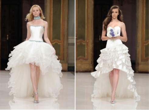 Gợi ý chọn váy cưới đẹp cho cô dâu có chiều cao khiêm tốn - ellevietnam 13