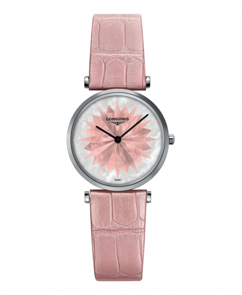 Phiên bản La Grande Classique de Longines màu hồng phấn
