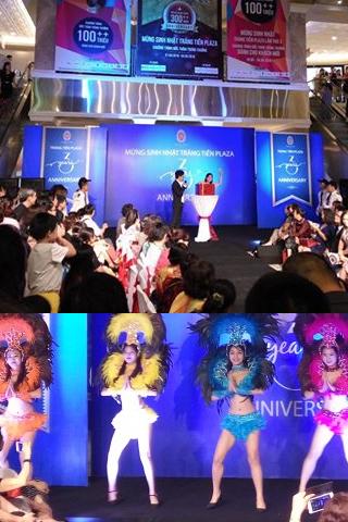 Trình diễn thời trang mừng sinh nhật Tràng Tiền Plaza