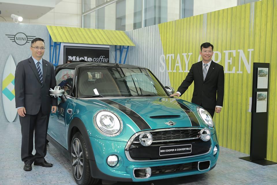 Mẫu xe mới nhất của dòng MINI - MINI Convertible được giới thiệu trong khuôn khổ của triển lãm.