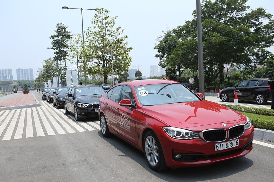 cơ hội chiêm ngưỡng tất cả các mẫu xe đến từ thương hiệu hàng đầu thế giới trong sự kiện lớn nhất của tập đoàn BMW từ trước cho tới nay