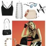 Xu hướng thời trang metallic & chất liệu lưới: Rise & Shine