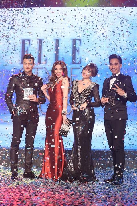 Người mặc trang phục đẹp của đêm tiệc thuộc về: Vĩnh Thụy - Hồ Ngọc Hà - Hari Won - Lý Quý Khánh