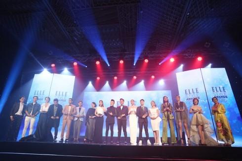 Những gương mặc đoạt giải ELLE Style Awards Vietnam 2016