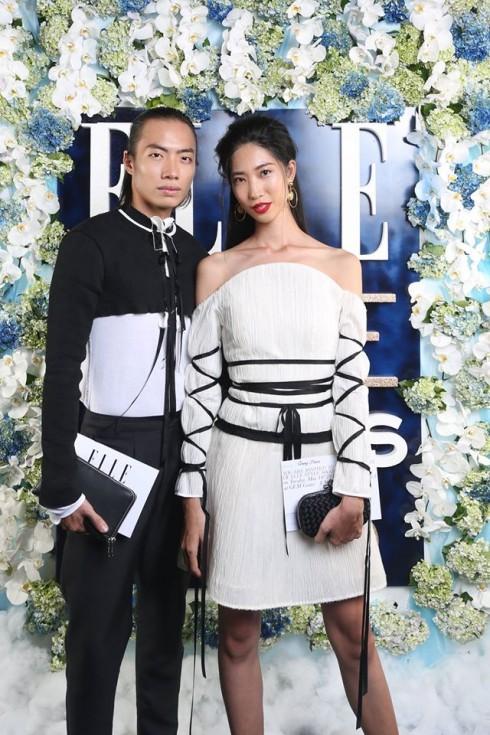 Người mẫu Alex Fox & người mẫu Trang Phạm