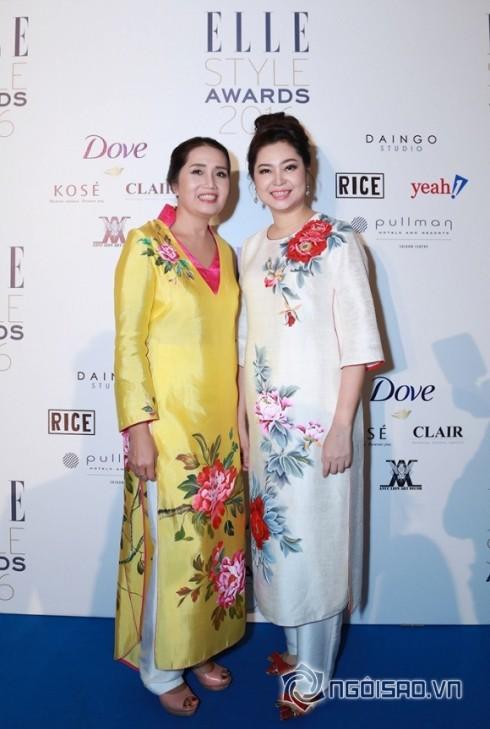Tại sự kiện, Doanh nhân Phùng Thị Thu Thuỷ hội ngộ cùng bà Sen Hoa, Chủ biên của Tạp chí Elle