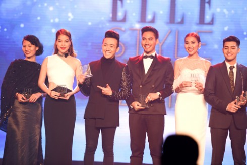 Truong Ngoc Anh - Kim Ly ELLE Style Awards Vietnam 2016 02