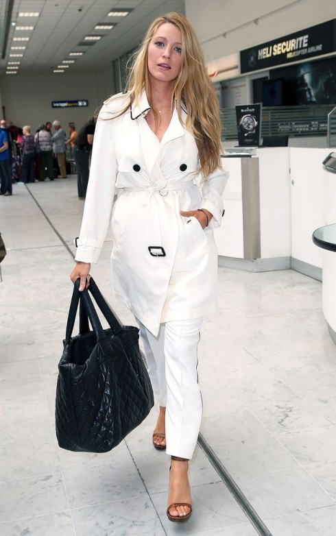 blake-lively-white-trench-coat-cannes-getty