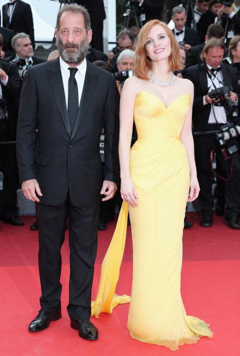 Jessica Chastain và Vincent Lindon